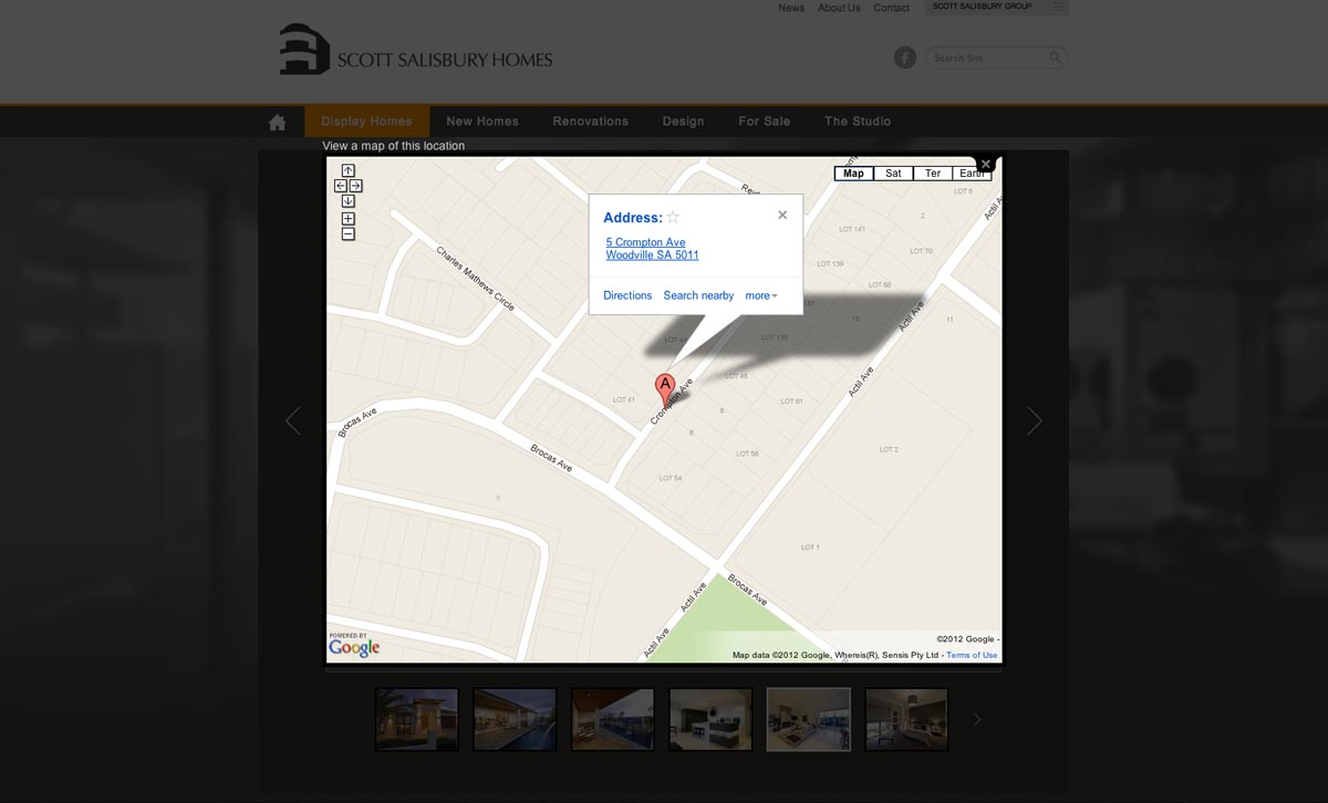Google Map Locator
